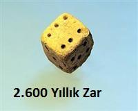 2600 yıllık zar